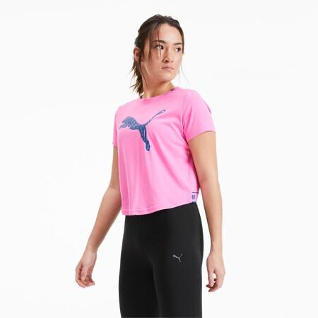 Camiseta De Training Para Mujer Logo Short SleeveCamiseta de training para mujer Logo Short Sleeve