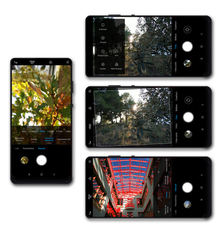 Xiaomi Mi Mix Interfaz Camara Trasera