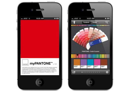 myPANTONE, la app para móvil que captura el color