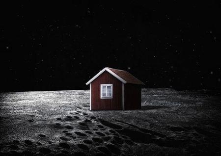 Un artista sueco pretende enviar una casa a la Luna que se 'autoconstruirá'