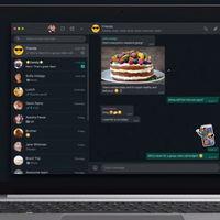 WhatsApp anuncia el lanzamiento del 'modo oscuro' también en su versión Web