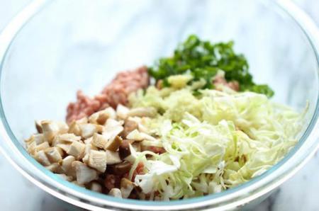 Receta Coreana Wontons Cerdo