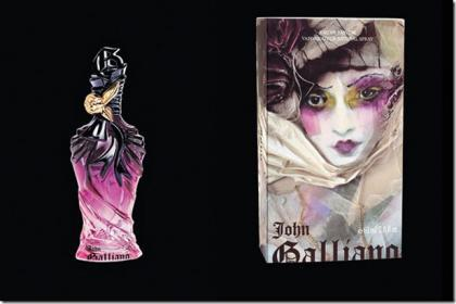 John Galliano nos presenta su primer fragancia femenina