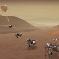'Dragonfly': la próxima gran misión de la NASA enviará un drone a Titán, la luna más grande de Saturno, para buscar el origen de la vida