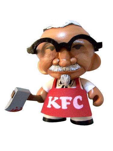 Los 10 diseños más originales de un Munny. KFC