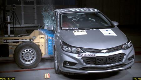 Chevrolet Cruze 2019 prueba de choque
