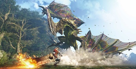 La jugabilidad para cuatro personas y la exploración de Monster Hunter World en 40 minutos de gameplay [GC 2017]