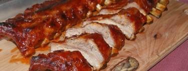 Costillitas de cerdo en salsa agridulce. Receta oriental para la cena de Navidad