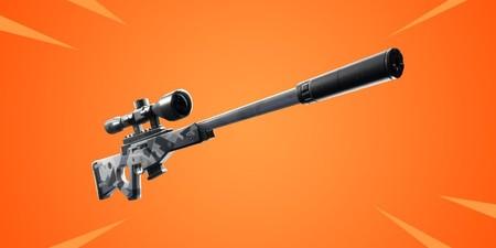 El Rifle de Francotirador silenciado es lo próximo que llegará a Fortnite