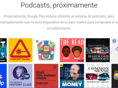 Los podcast podrían llegar a Google Play a finales de este mes