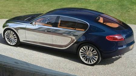 El coupé 2+2 de Bugatti está más cerca de la realidad, y es muy probable que sea híbrido