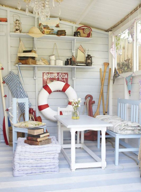 17 accesorios para dar toque marinero a tu casa de la playa for Articulos decoracion originales