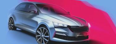 El Skoda Rapid 2020 adelanta lo que pudo ser una nueva generación del SEAT Toledo