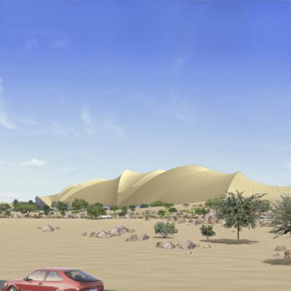 Proyecto urbanístico en Doha: Museo de Arte moderno Arabe para el 2011