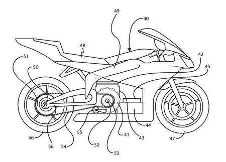 Erik Buell patenta una moto híbrida