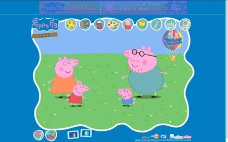 Peppa Pigg es un programa de televisión para toda la familia