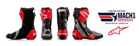 Vinales Mach1 Le Supertech R Boot Rotation 01