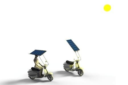 Techo Solar Scooter Invento