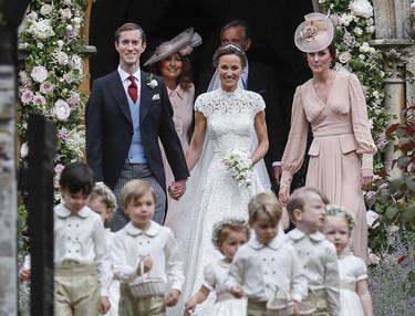 Lo mejor de la boda de Pippa Middleton fueron los pequeños pajes y chicas de las flores