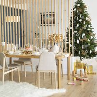 Habitat devuelve el protagonismo al dorado en sus ambientes mágicos para Navidad