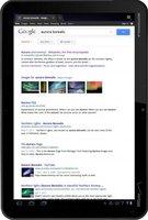 Google mejora la experiencia de búsqueda en las tablets