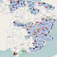 En este mapa interactivo de la DGT puedes conocer el estado de las carreteras en tiempo real, incluidos avisos por nieve y lluvia