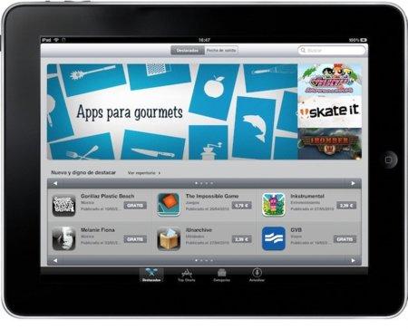 La App Store española del iPad ya está operativa desde el dispositivo