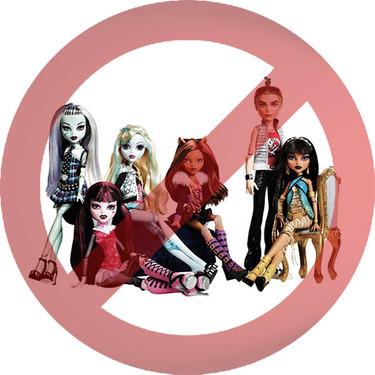 Mis hijos no quieren ni oír hablar de las Monster High