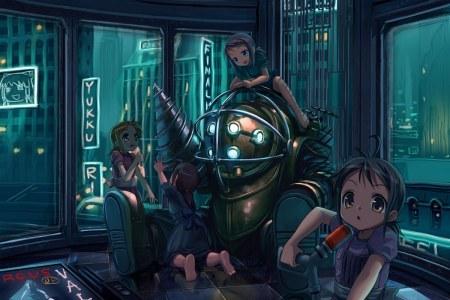 'Bioshock' estilo manga