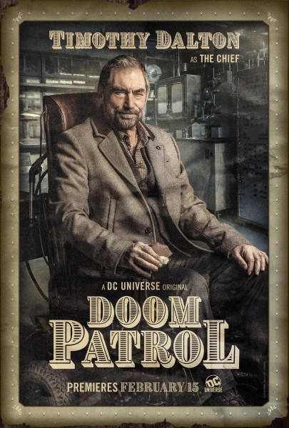 Doom Patrol Poster Chief 405x600