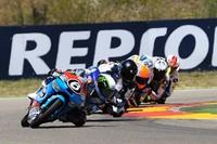 CEV Repsol 2013: Ramos y Raffin en Moto2, Morales en Stock Extreme y Herrera en Moto3 ganan en Aragón