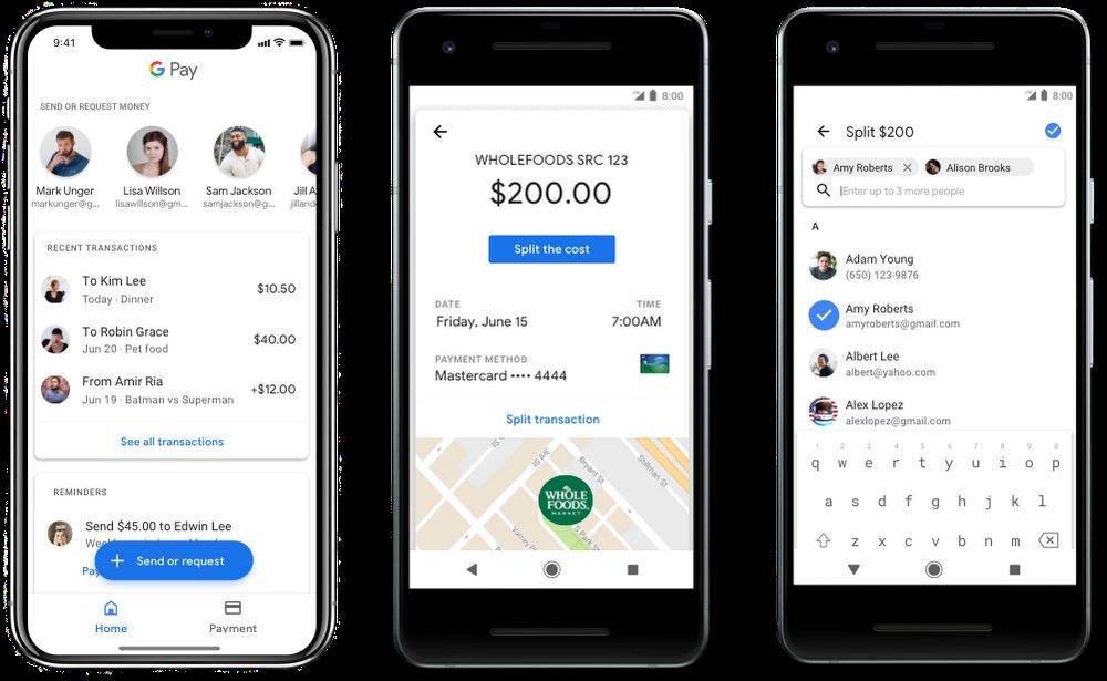Google Pay Send Request Money