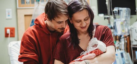 Deciden dar a luz a su hija con anencefalia para donar sus órganos y dar vida a otros bebés