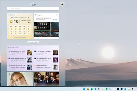 Widgets Windows