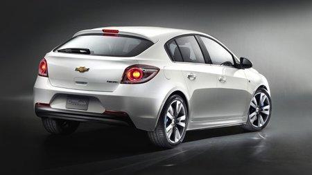 Chevrolet Cruze 5 Puertas, la versión hatchback está aquí