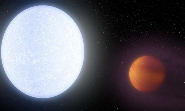 Este planeta recién descubierto es más caliente que muchos soles