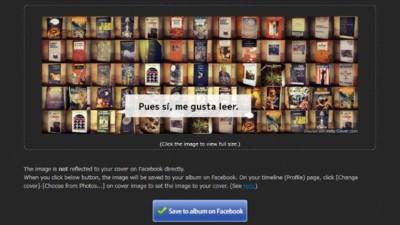 Crea con Instacover la portada de tu timeline de Facebook con fotos de Instagram