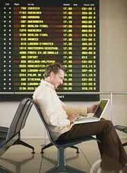 Los viajeros de negocios prefieren la puntualidad a la comodidad