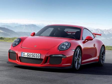 Porsche 911 GT3 2013 frontal