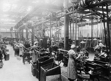 Escenas Como Esta Se Convirtieron En La Tonica General Durante La Primera Guerra Mundial