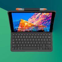"""Esta funda con teclado de Logitech para iPad Air por 70 euros es """"imprescindible"""" para estudiantes que se pasan el día escribiendo"""