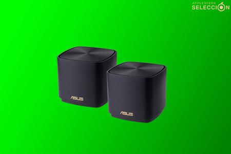 Los routers mesh ASUS ZenWifi AX Mini con Wi-Fi 6 son un chollo en Amazon por 225 euros, su precio mínimo histórico