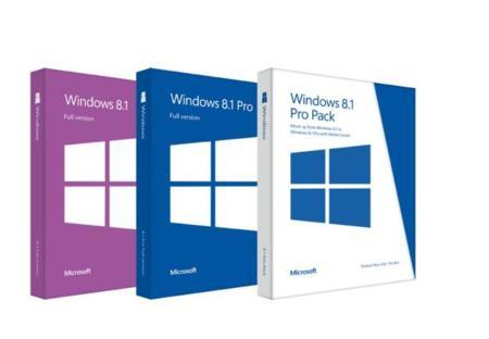 Microsoft anuncia precios para Windows 8.1