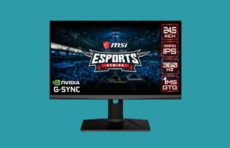 Con G-Sync, 360 Hz y resolución Full HD este monitor gaming es ideal para e-sports. Y ahora puedes hacerte con él por 200 euros menos en PcComponentes