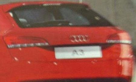 Posible foto filtrada del Audi A3 2012
