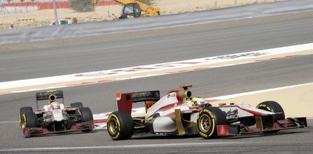 HRT completa otra buena carrera en el complicado circuito de Bahrein