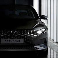 El Hyundai Grandeur enseña parte de sus encantos: nuevo diseño exterior y cuadro de mandos 100% digital