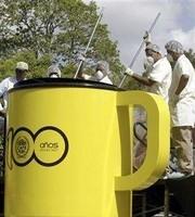 La taza de café más grande del mundo