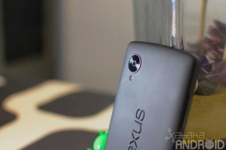 Parte trasera Nexus 5