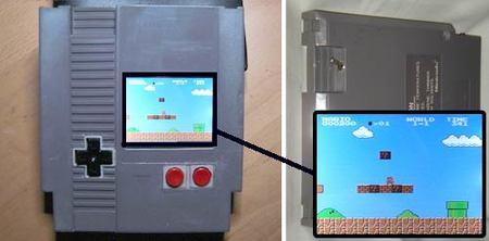 Una NES portátil en un cartucho de NES